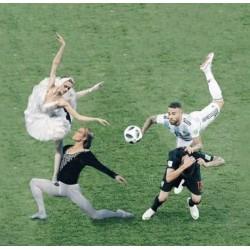 Τι σχέση έχει το μπαλέτο με το ποδόσφαιρο ?